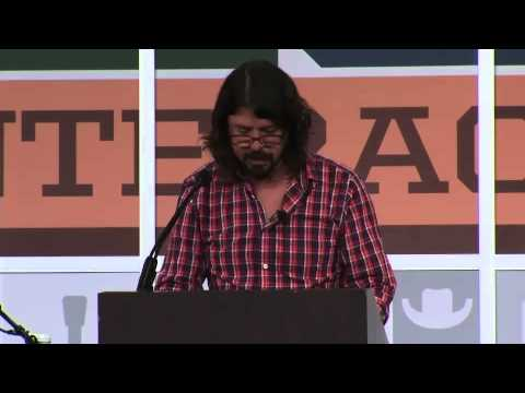 Dave Grohl's Keynote Speech at SXSW