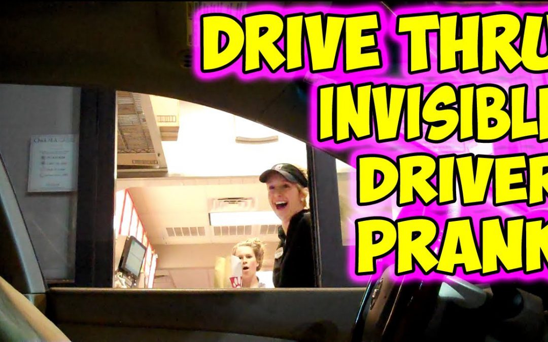 Invisible Driver Orders Drive Thru