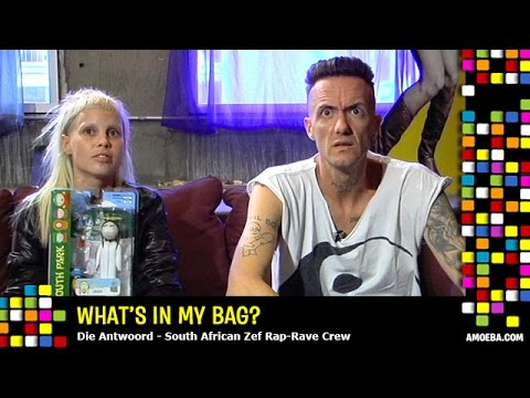 What's in their Music Bag: Die Antwoord, Noel Gallagher and Frodo